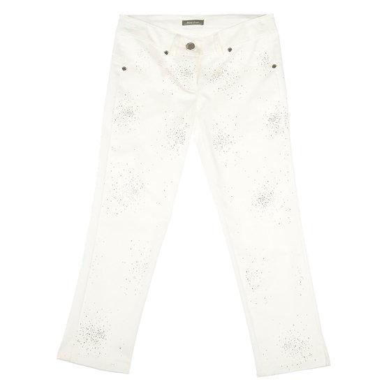 Glitter rhinestones trousers