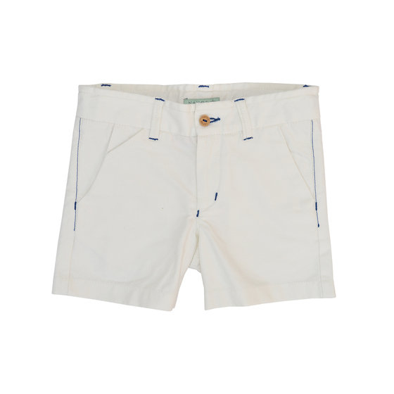 Boys off white bermuda