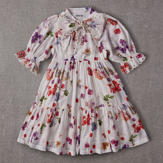 Agatha Dress in Petal Floral