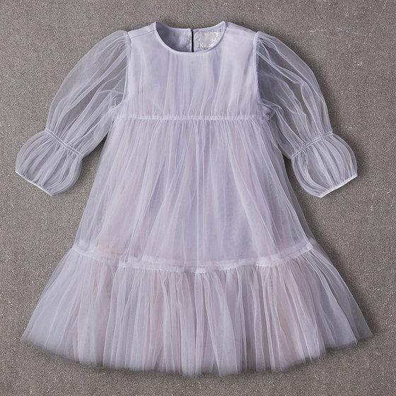 Alice Dress in Misty Blue