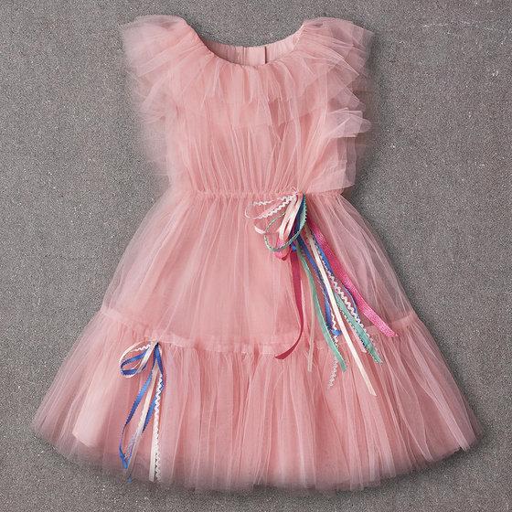Anastasia Dress in Peaches