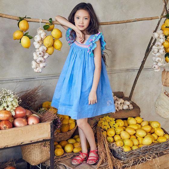 Chloe Dress in Royal Blue