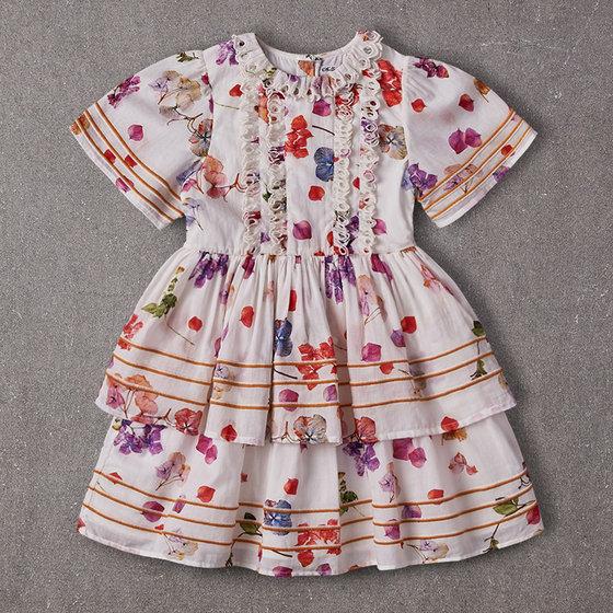 Eyvette Dress in Petal Floral