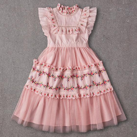 Julianna Dress in Peaches