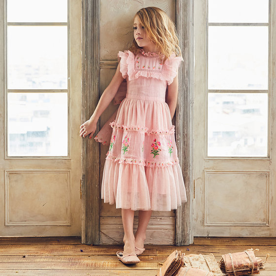 New Season: Julianna Dress in Sunset