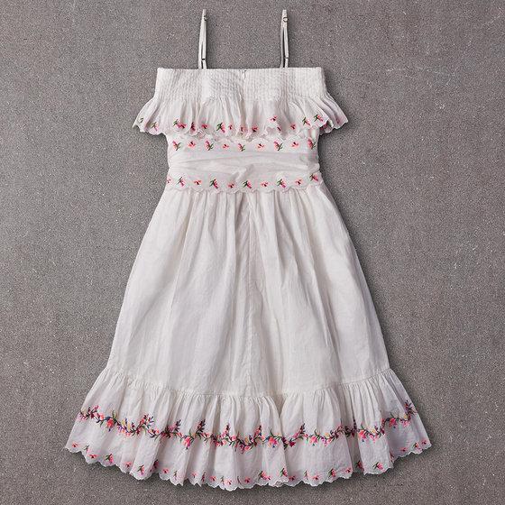 Rosie Dress in Bright White
