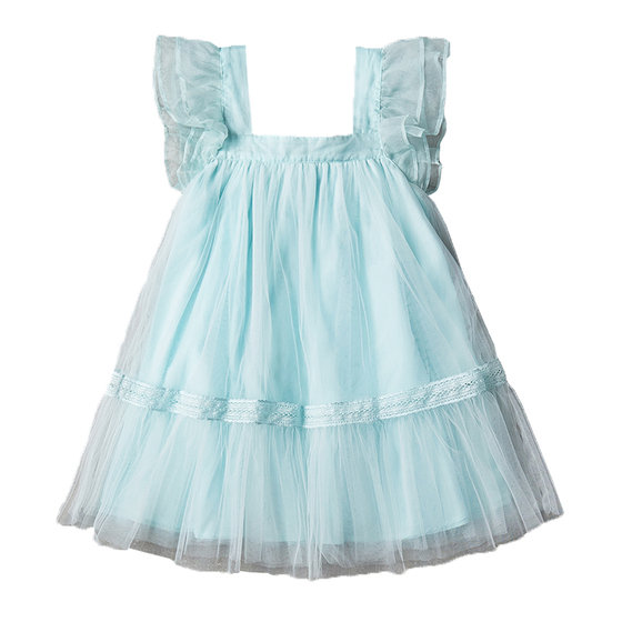 Fiona Dress in Soft Mint