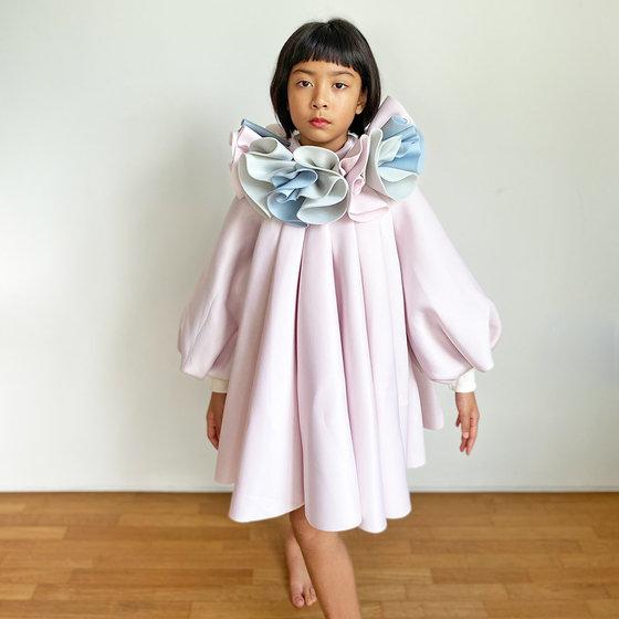 Daughter of the Goddess: Divona Dress in Pink