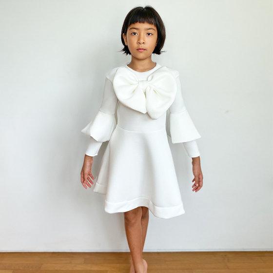 Daughter of the Goddess: Melissa Dress in White
