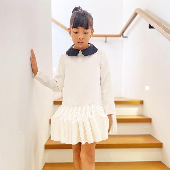 September Dress in White