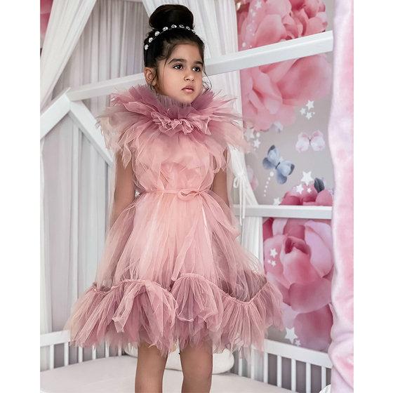 Tender Dress in Powder Pink