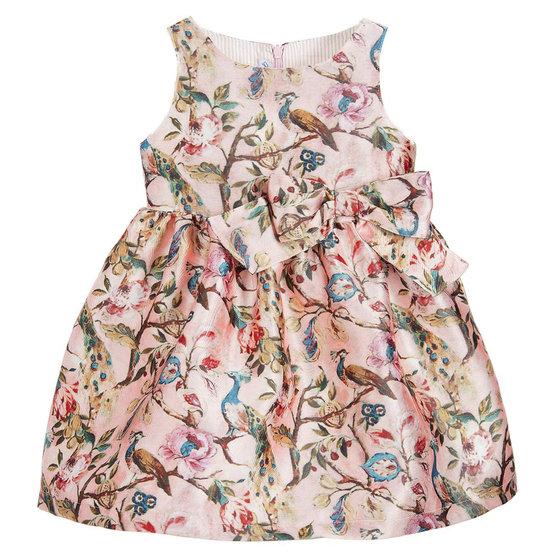 Leire Pink Printed Dress