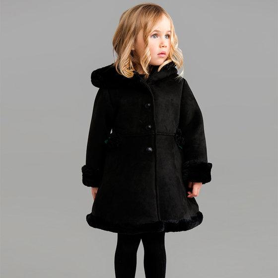 Black Velvet Lucia Coat