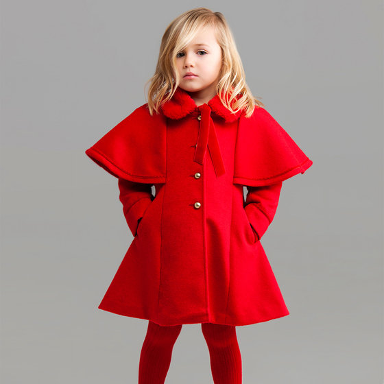 Red Nora Coat