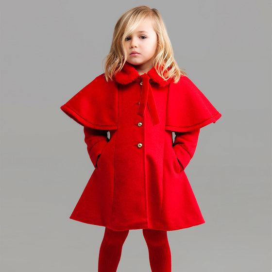 Red Nora Coat