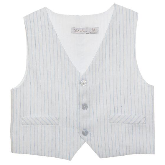 Blue Stripes Vest