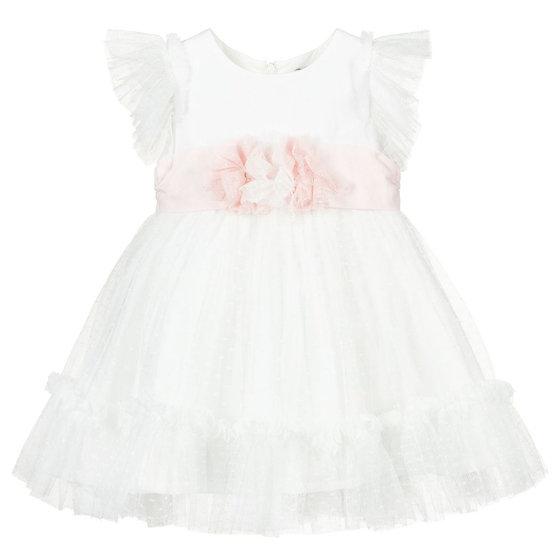 Off-white Tulle Dress