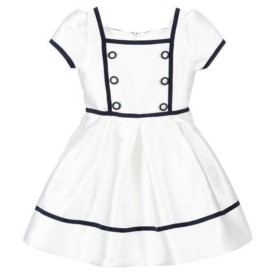 White Ecru Dress