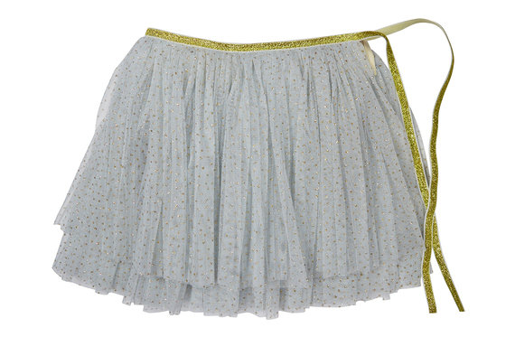 Powder Blue Glinda Wrap Skirt