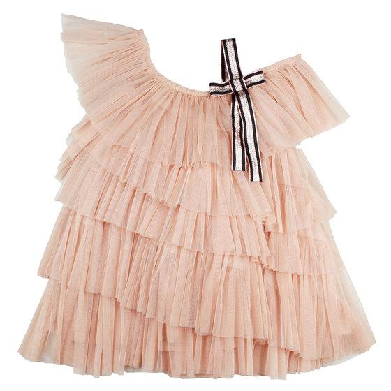 Leila Dress in Light Pink