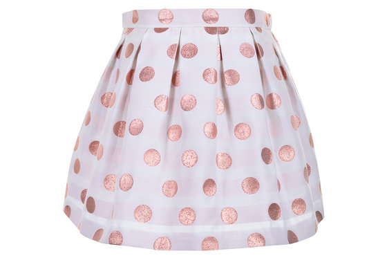 Rose Polka Dot Skirt