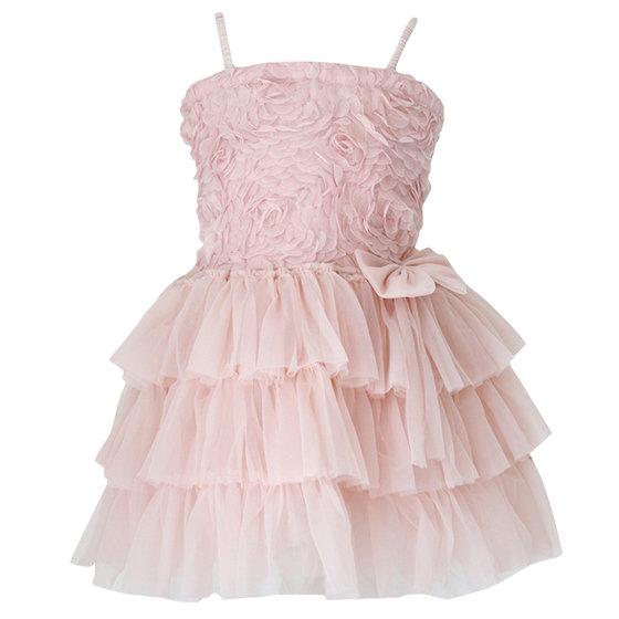 Rosy Layered Dress