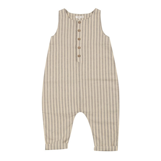 Baby Stripe Sleeveless Jumpsuit