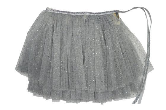 Silver Glinda Wrap Skirt