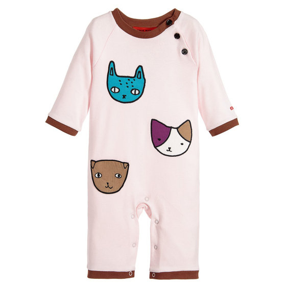 Cute Cat Faces Jumpsuit