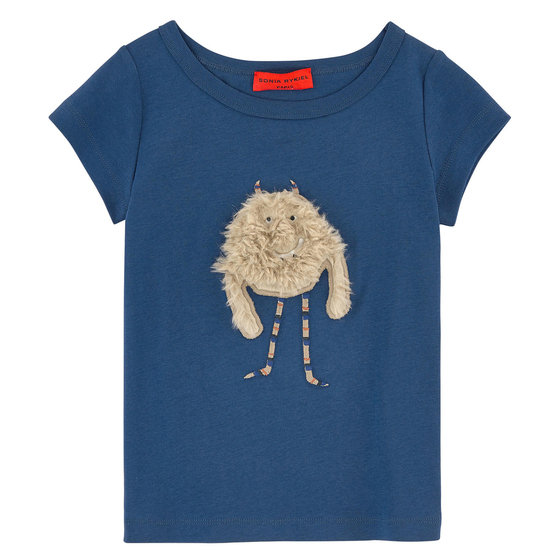Cute Monster Blue T-shirt