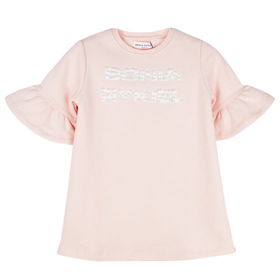 "Logo Sweatshirt ""Brick"" Dress"