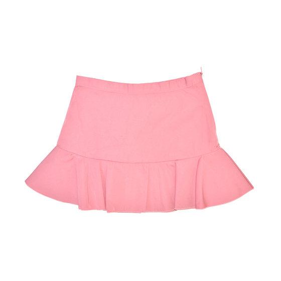 Pink Satin Taffeta Skirt