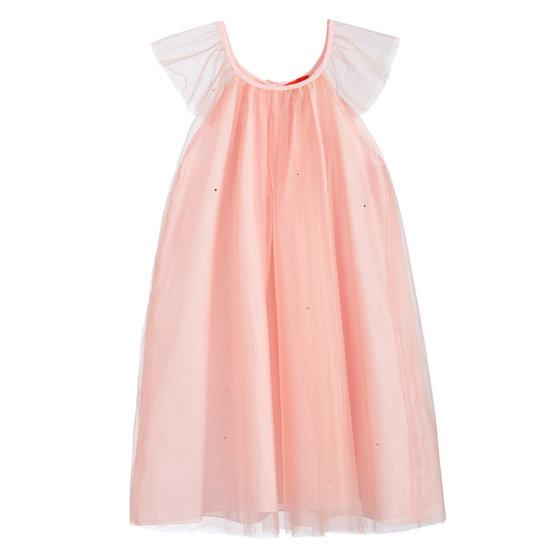 Tulle Dress with Rhinestones