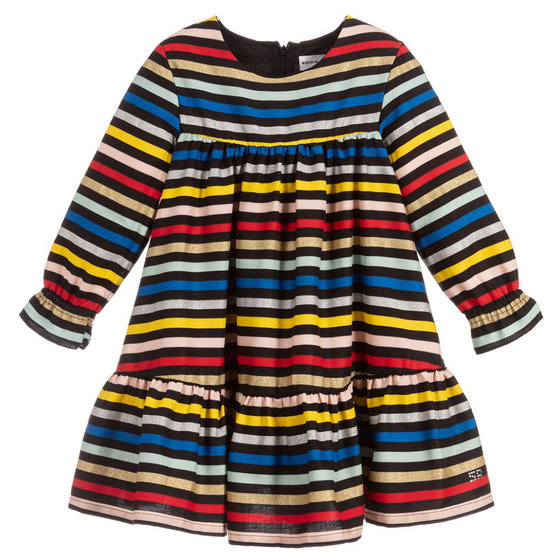 Girls Striped Dipa Dress