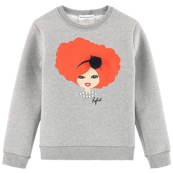 """Fancy Print """"Berky"""" Sweatshirt"""