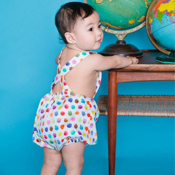 Ice Cream Baby Girl Onesie