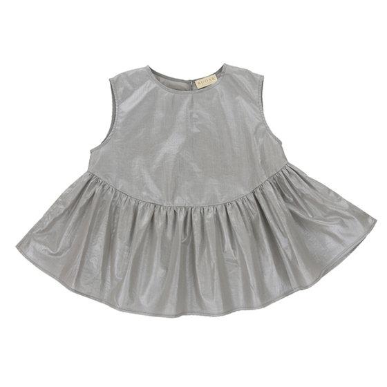 Metallic Grey Top