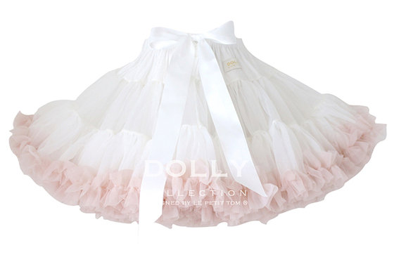 Dolly Off White Pink Pettiskirt