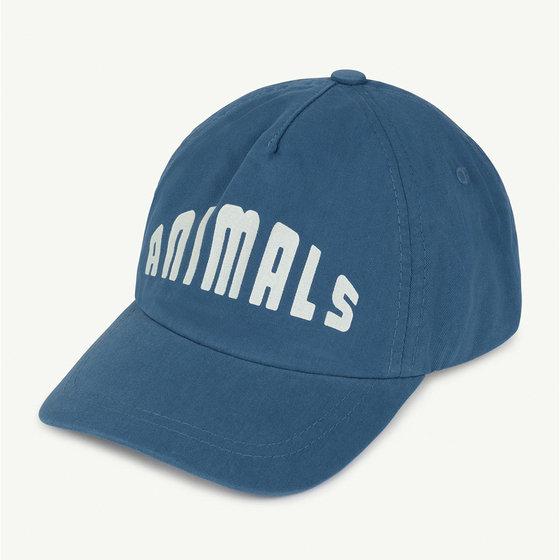 Blue Animals Hamster Cap