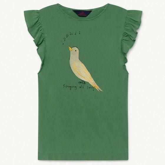 Green Bird Fly Dress