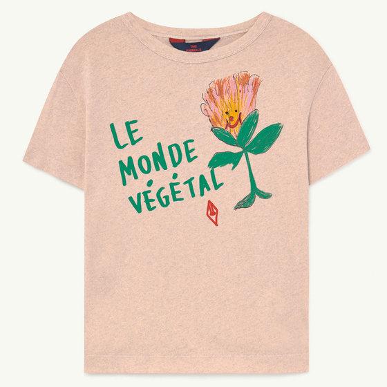 Pink Le Monde T-shirt