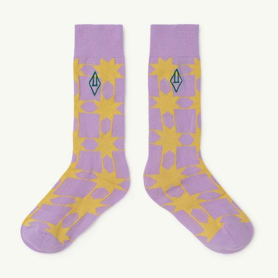 Purple Logo Hen Socks