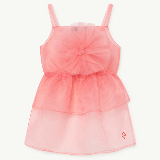 Soft Pink Logo Dragon Fly Dress