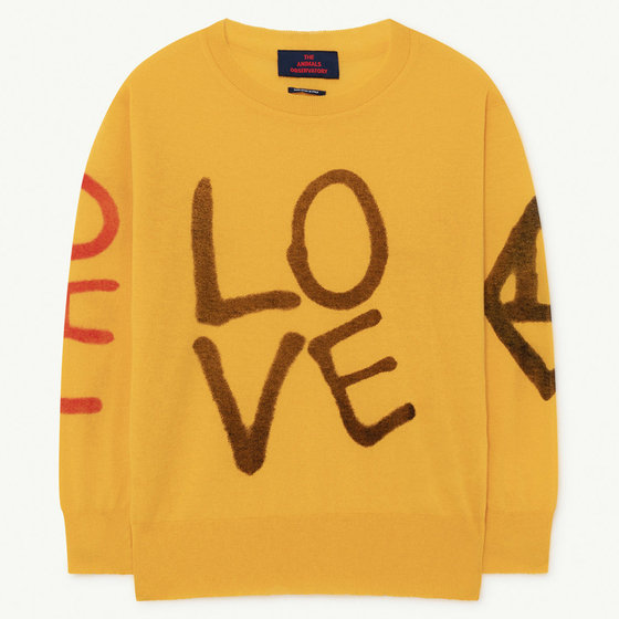 Yellow Logo Bull Sweater