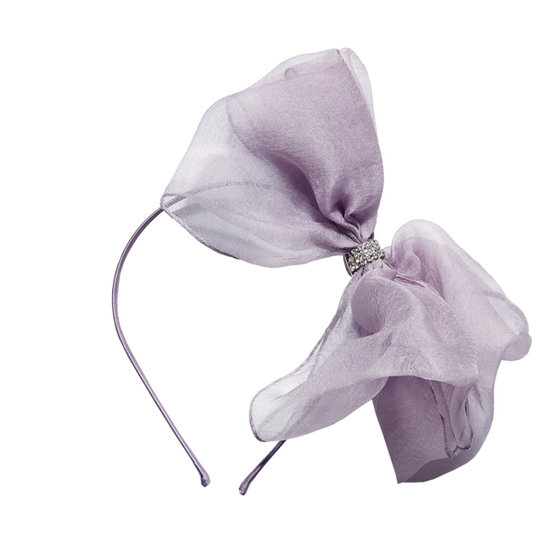 Alice Bow Silk Headband