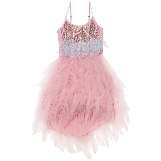 Bird of Paradise Tutu Dress