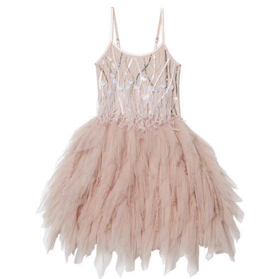 Desert Queen Sleeveless Mink Tutu Dress