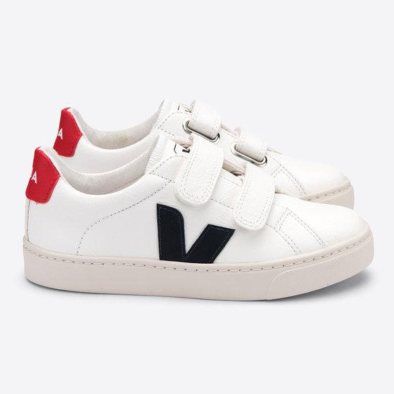 Velcro White Nautico Pekin