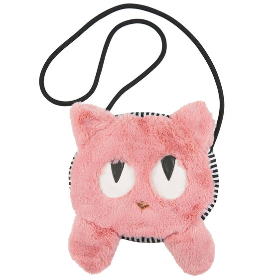 Girl Fluffy Cat Shoulder Bag