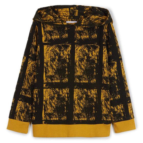 David Yellow Hydra Sweatshirt